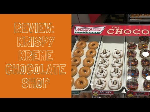 REVIEW: Krispy Kreme's New Chocolate Shop Doughnuts