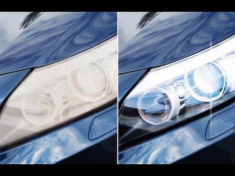 How to clean car headlights ? (hindi/Urdu)