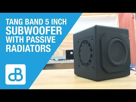 Small Subwoofer Build with Tang Band Driver - by SoundBlab