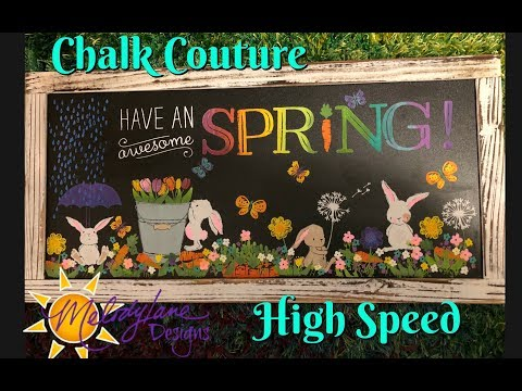 Chalk Couture Spring Bunnies High Speed