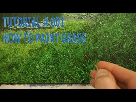 #5 How To Paint Grass | Oil Painting Tutorial