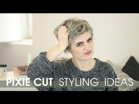 Pixie Cut Styling Ideas | Raquel Mendes