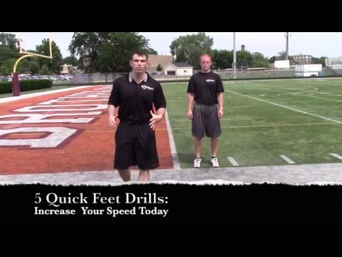 5 Quick Feet Drills To Increase Your Speed