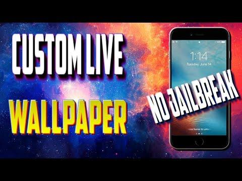 Custom Live Wallpaper 2017 iOS 8,9,10 *No Jailbreak*