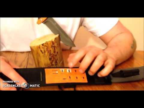 Best Gerber Bear Grylls Ultimate Survival Knife Review   Ultimate Knife, Fine Edge 31 001063