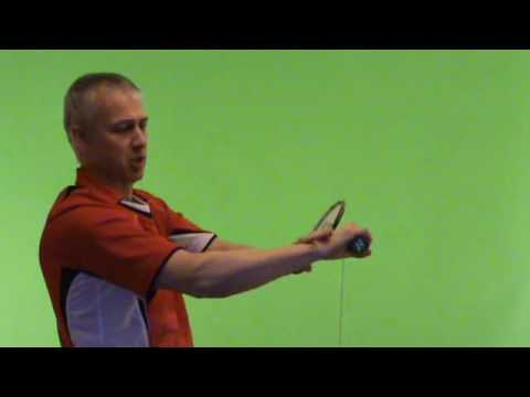 Paul Stewart 's Armchair Badminton Exercises Video Three