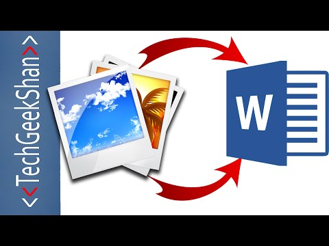 Convert IMAGE to TEXT using Microsoft Office