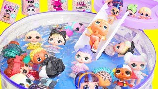 Download LOL Surprise Dolls Pool Party Mix Up with Lil Sister Fuzzy Pets   Toy Egg Video