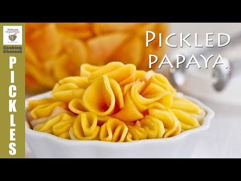 Pickled Papaya | Malaysian Chinese Kitchen