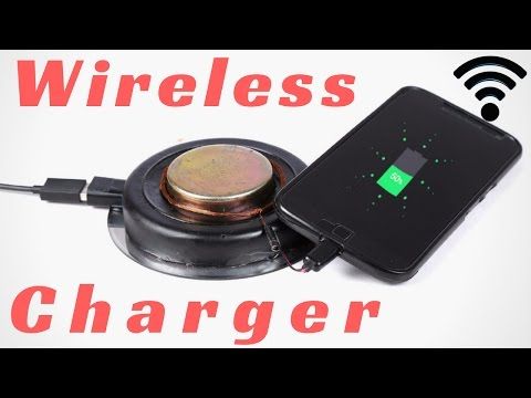 How to Make Wireless Charger   Turn Your charger  Wireless