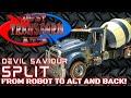 JUST TRANSFORM IT!: Devil Saviour Split (ROTF Mixmaster)