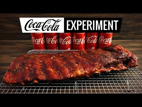 Coca-Cola RIBS EXPERIMENT - Smoking and BBQ Coke RIBS - WHAT!?
