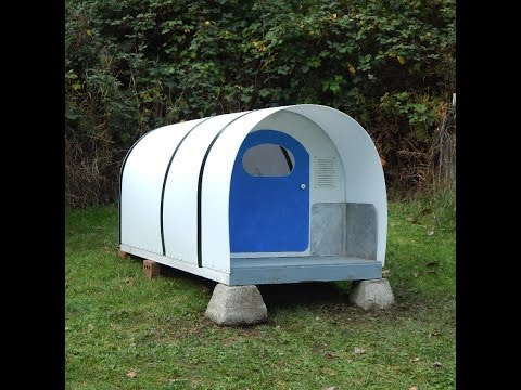 Homeless sleeping pod Concept