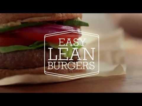 Easy Lean Beef Burgers