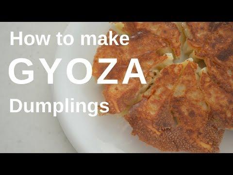 How to make ★Gyoza dumplings★餃子の作り方(EP17)