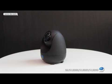 Perfect Night Vision OPTJOY QC21 1080P HD WiFi IP Camera, Indoor Camera With Motion Tracking