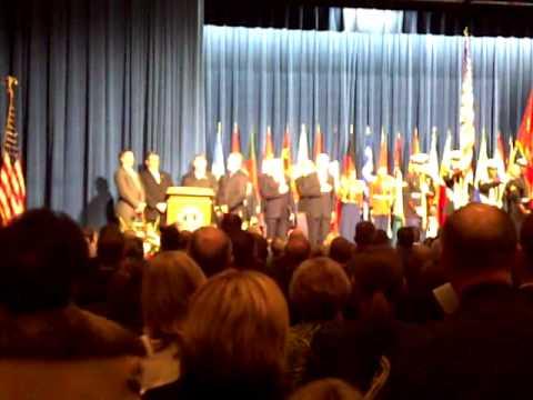 FBI Academy 2010 Graduation National Anthem
