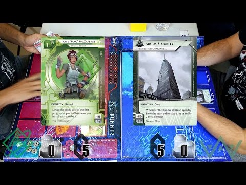 BH City Grid - Rodada 1 - Jogo 1 (Android Netrunner Campeonato)