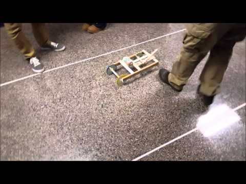 The Great Mousetrap Car Race (2nd Quarter Physics 2015)
