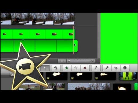 Green Screen Positioning Tutorial Help in iMovie 11 / 09