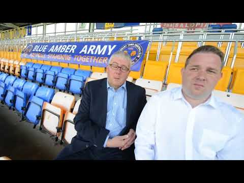 Shrewsbury Town FC introduces new standing seats