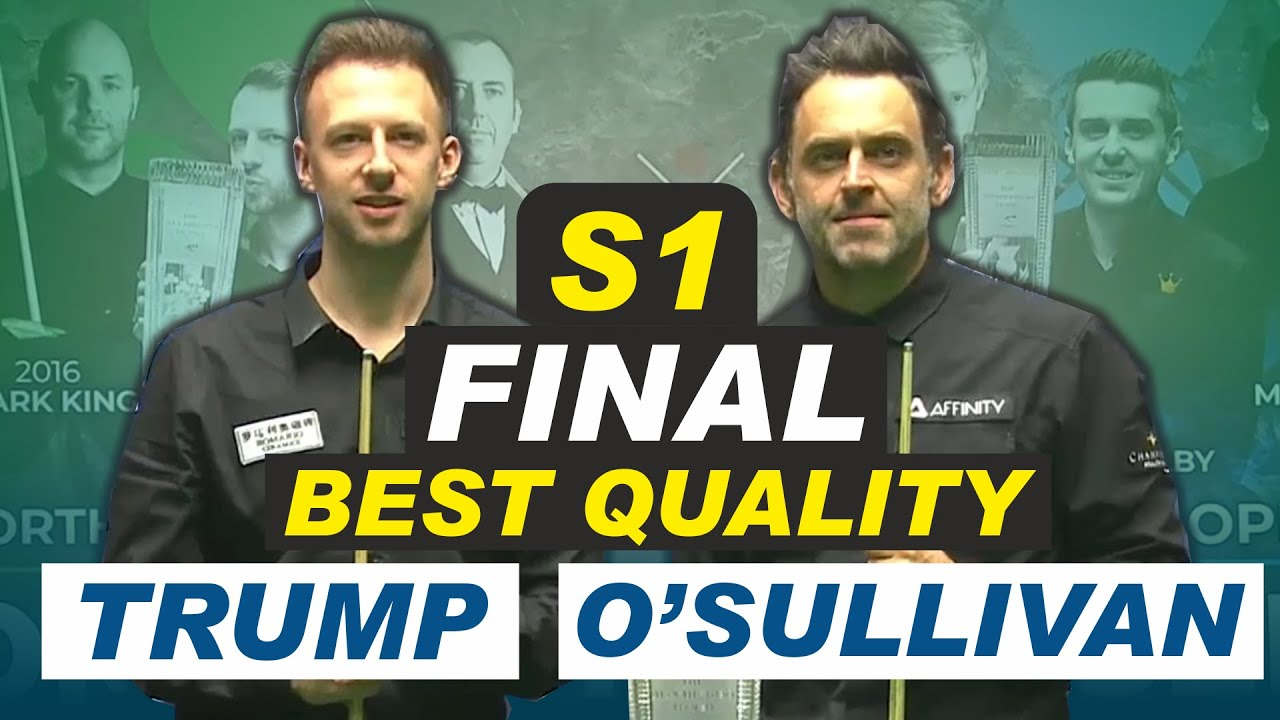 Ronnie O'Sullivan v Judd Trump   Final   Session 1   Northern Ireland Open Snooker 2020
