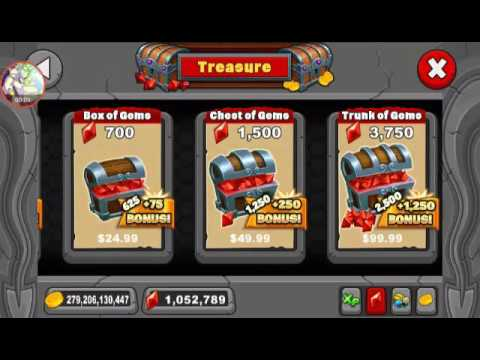 HOW TO GET UNLIMITED AMOUNT OF GEMS IN DRAGONVALE