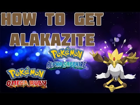 How to Get Mega Alakazam in ORAS - Mega Stone Location Guide