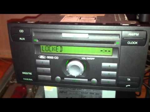 Help ford cd6000 unlock