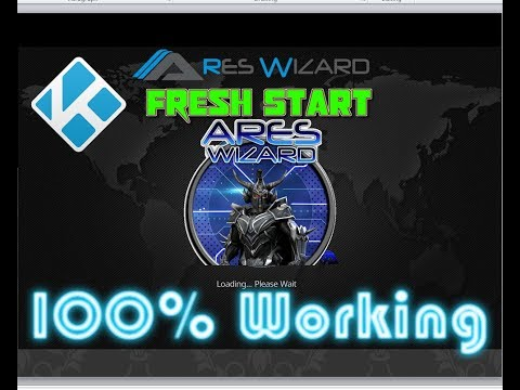 How to install and setup ARES Wizard To DO Fresh Start || NEW Working ADDON