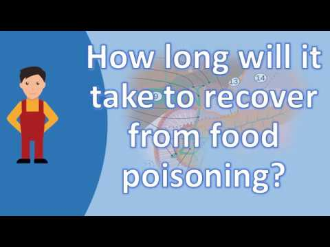 How long will it take to recover from food poisoning ? | Better Health Channel