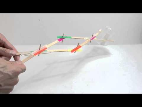 Simple Extending Grabber made of craft sticks