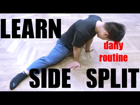 5 IMPORTANT EXERCISES FOR YOUR SIDE SPLIT- BEGINNERS AND ADVANCED LEARNERS!