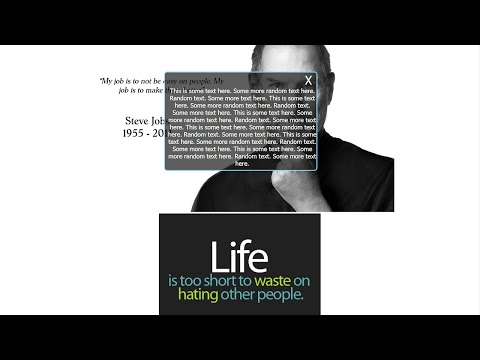 HTML5 Mini Program Tutorial 28 | Custom Alert Box | CSS