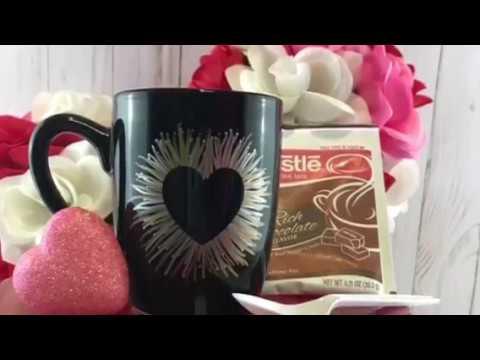 DIY Sharpie Marker Mug - Fun Coffee Mug Craft To Make for a Gift Using Sharpie Markers