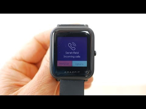 Amazfit Bip smart watch in-depth review. Built in optical heart rate & GPS for less than £50 or $70