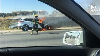 Another Ford Kuga goes up in flames