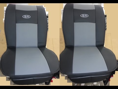 Big Ant Waterproof Universal 2 PCS Seat Protector PU Leather Seats Cover Mat Best Fit for Car Truck