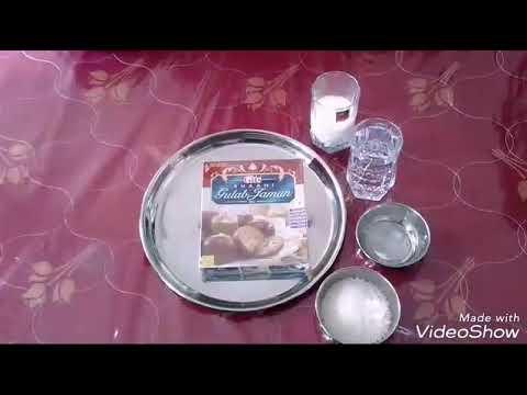 How to make gits gulab jamun in Hindi