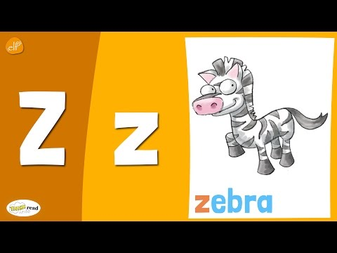 Letter Z Practice - Phonics and Vocabulary - Think Read Write - Fun Kids Learning Videos