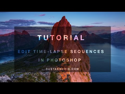 Tutorial: Edit Time-Lapses in Photoshop