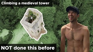Download Climbers try scaling medieval ruins || Frasassi Climbing Festival || BoulderingBobat Video