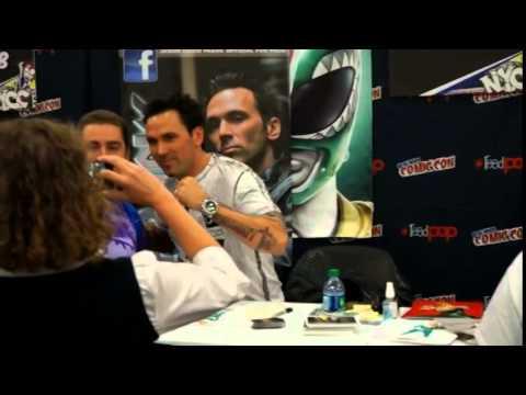 Jason David Frank Signing at New York Comic Con 2014