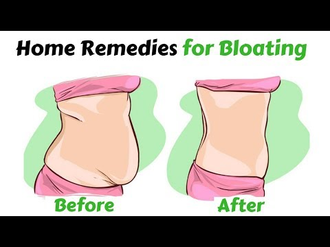 Stomach Feels Bloated And Gassy | Home  Remedies For Bloating