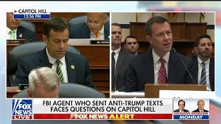 Ratcliffe grills Strzok on hateful anti-Trump text messages