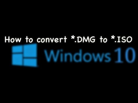 How to convert DMG to ISO ?