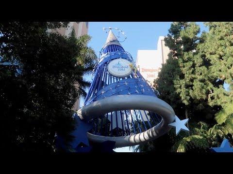 Sleeping over at The Disneyland Hotel   Disneyland Vlog #1