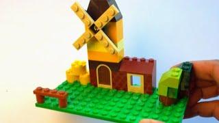 Lego Windmill Building Instructions - Lego Classic 10696