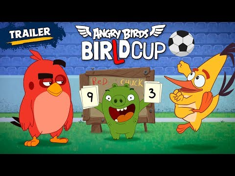 Angry Birds - BirLd Cup | New Series Official Trailer!