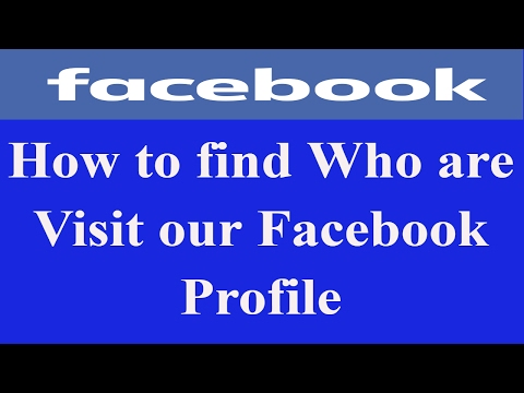 How To Know Who Is Visiting My Facebook Profile | Facebook Profile Viewers !